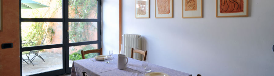 Casa del Poggio - Kitchen with dining table